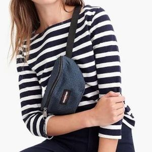 J. Crew Tops - J. Crew Structured Boatneck T-shirt in Stripe